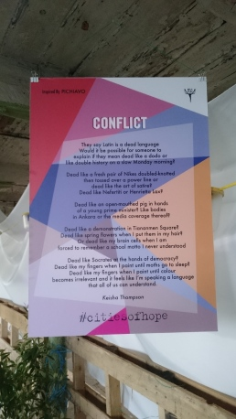 Conflict poem