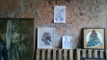 Pichiavo sketches and photograph of Erinma Bell sculpture
